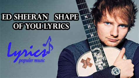 [click]ed Sheeran - Shape Of You Official Lyric Video .